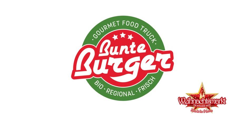 Bunte Burger |Weihnachtsmarkt am Kölner Dom