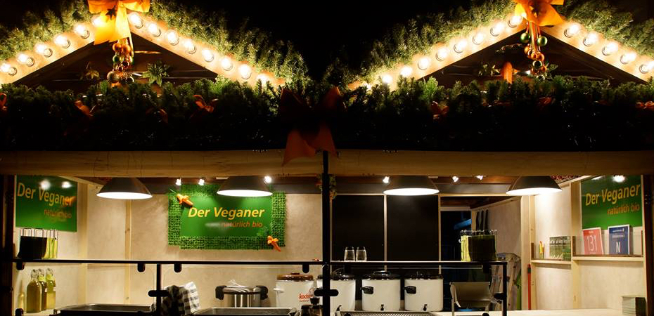 Der Veganer – Imbisshütte auf dem Ulmer Weihnachtsmarkt
