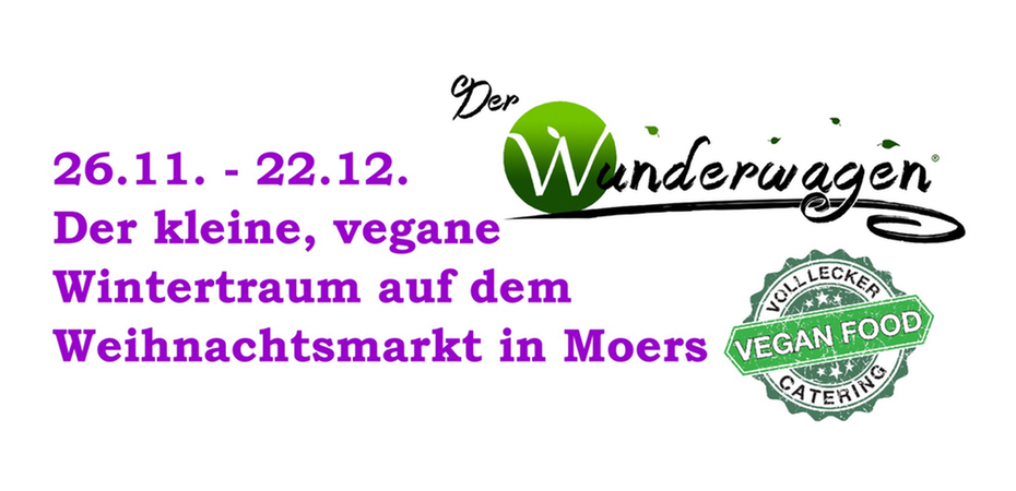 Vegane Stände   Der Wunderwagen und Voll Lecker   Moerser Weihnachtsmarkt