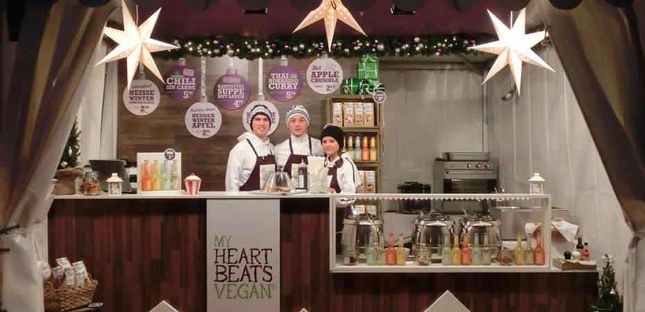 Veganer Stand | My Heart Beats Vegan | Kurfürstlichen Weihnachtsmarkt Schwetzingen
