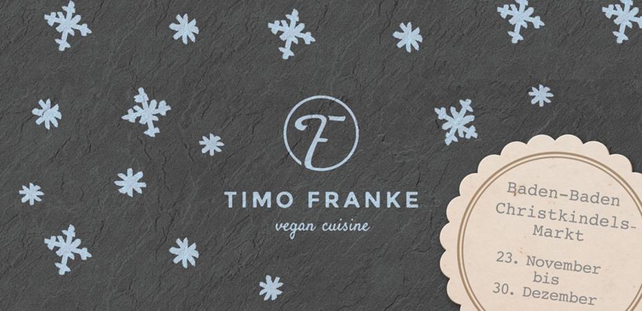 Vegane Snackbar | Timo Franke – Vegan Cuisine | Bühler Adventsmarkt