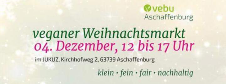 Veganer Weihnachtsmarkt 2016   Aschaffenburg