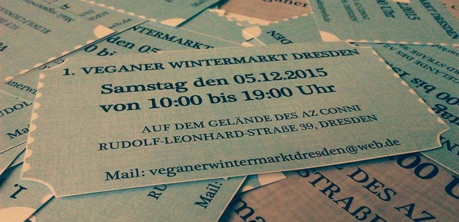 Veganer Wintermarkt | Dresden