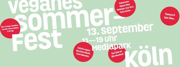 Veganes Sommerfest 2014 | Köln