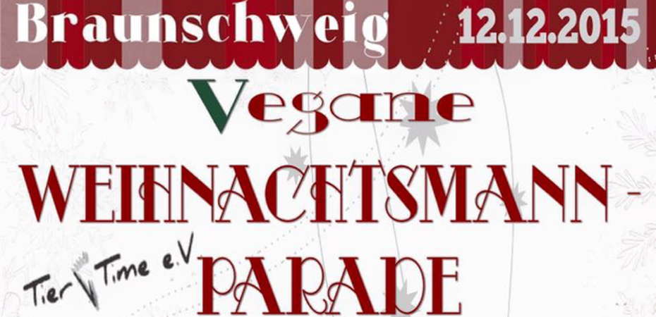 Vegane Weihnachtsmannparade | Braunschweig